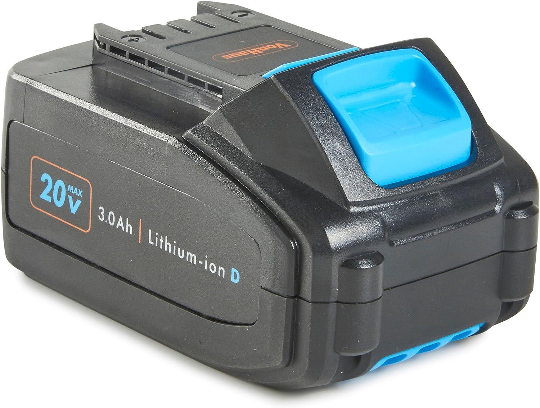 VonHaus 3,0Ah Batería de repuesto ion de litio–Compatible con todas las herramientas del VonHaus 20V Iones de litio D sortiments