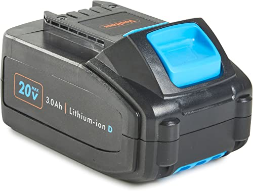 VonHaus Lithium-ion 3.0Ah Spare Replacement Battery Compatible With All VonHaus 20V Cordless D Series Tools
