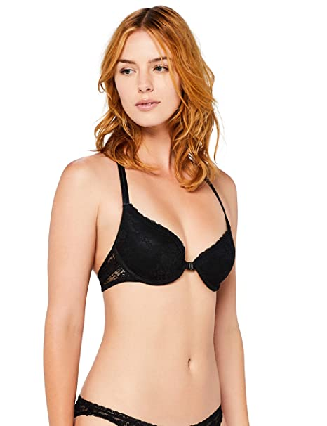 215e5af6b6 Iris   Lilly Women s Front-Closure Lace Bra  Amazon.co.uk  Clothing