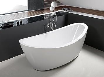 Charmant 71u0026quot; Freestanding Luxury Bathtub White Acrylic