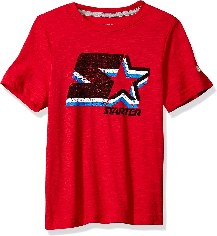 Exclusive Starter Boys Short Sleeve Faded Logo T-Shirt