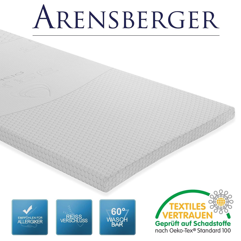 Arensberger Visco Schaum VS6 Matratzenauflage Topper, 180 x 200 cm