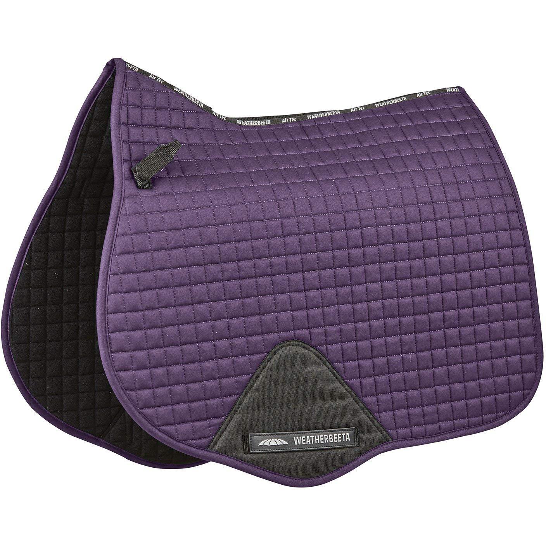 Weatherbeeta Full Size Prime All Purpose Saddle Pad One Size Purple Pendant