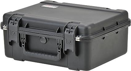 SKB iSeries 1914N-8 Negro - Caja (Resina de copolímero de polipropileno, Negro, IP67, 3,7 kg, 48,3 cm, 36,8 cm): Amazon.es: Instrumentos musicales