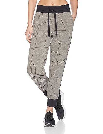 334ad56d2 Under Armour Women's Spacer Burnout Pants, Charcoal Medium Heat (019)/Tonal,