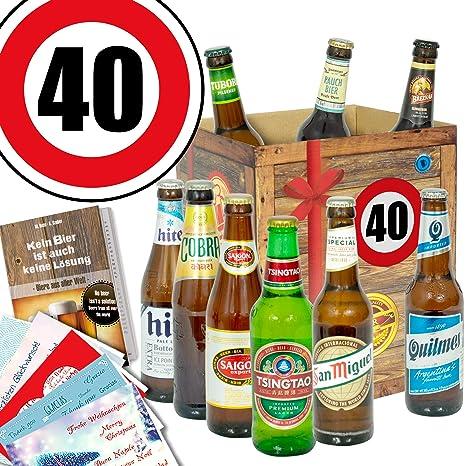 Bier geschenk zum 40 geburtstag