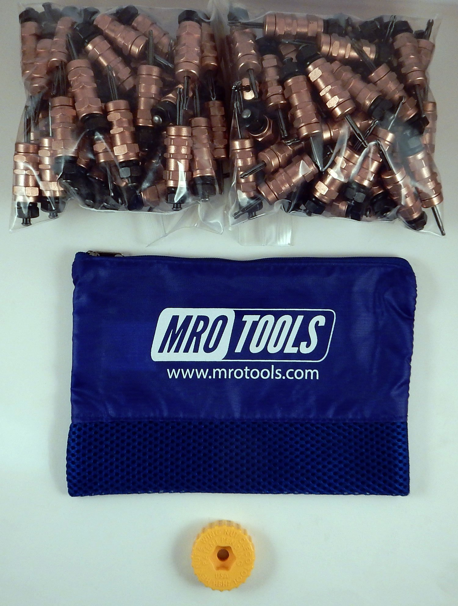 100 1/8 Standard Hex-Nut Cleco Fasteners w/ HBHT Tool & Carry Bag (KHN1S100-1/8) by MRO Tools Cleco Fasteners