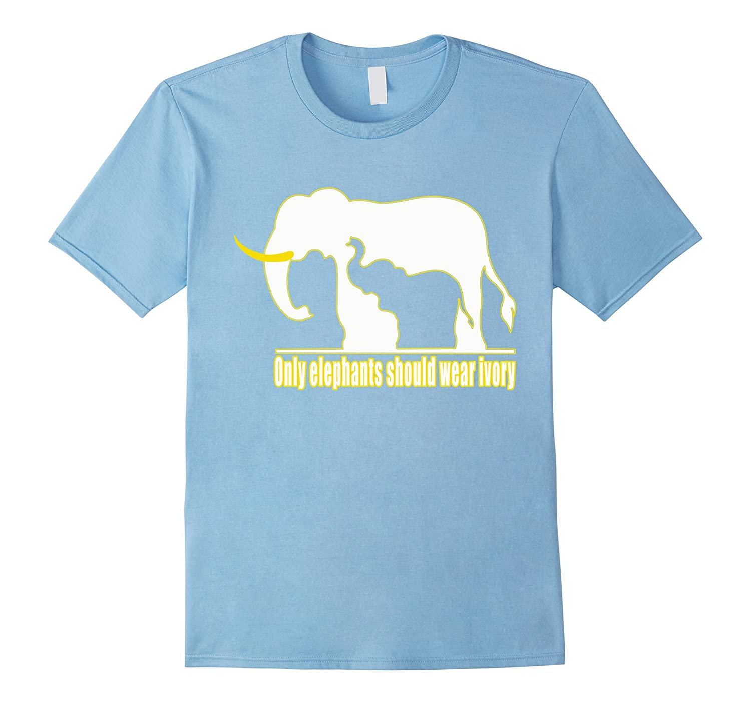 Elephant father and elephant son t-shirt Elephant shirt-Vaci