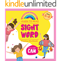 Learn To Read Sight Word Practice Workbook Ages 6-8: Sight Word CAN