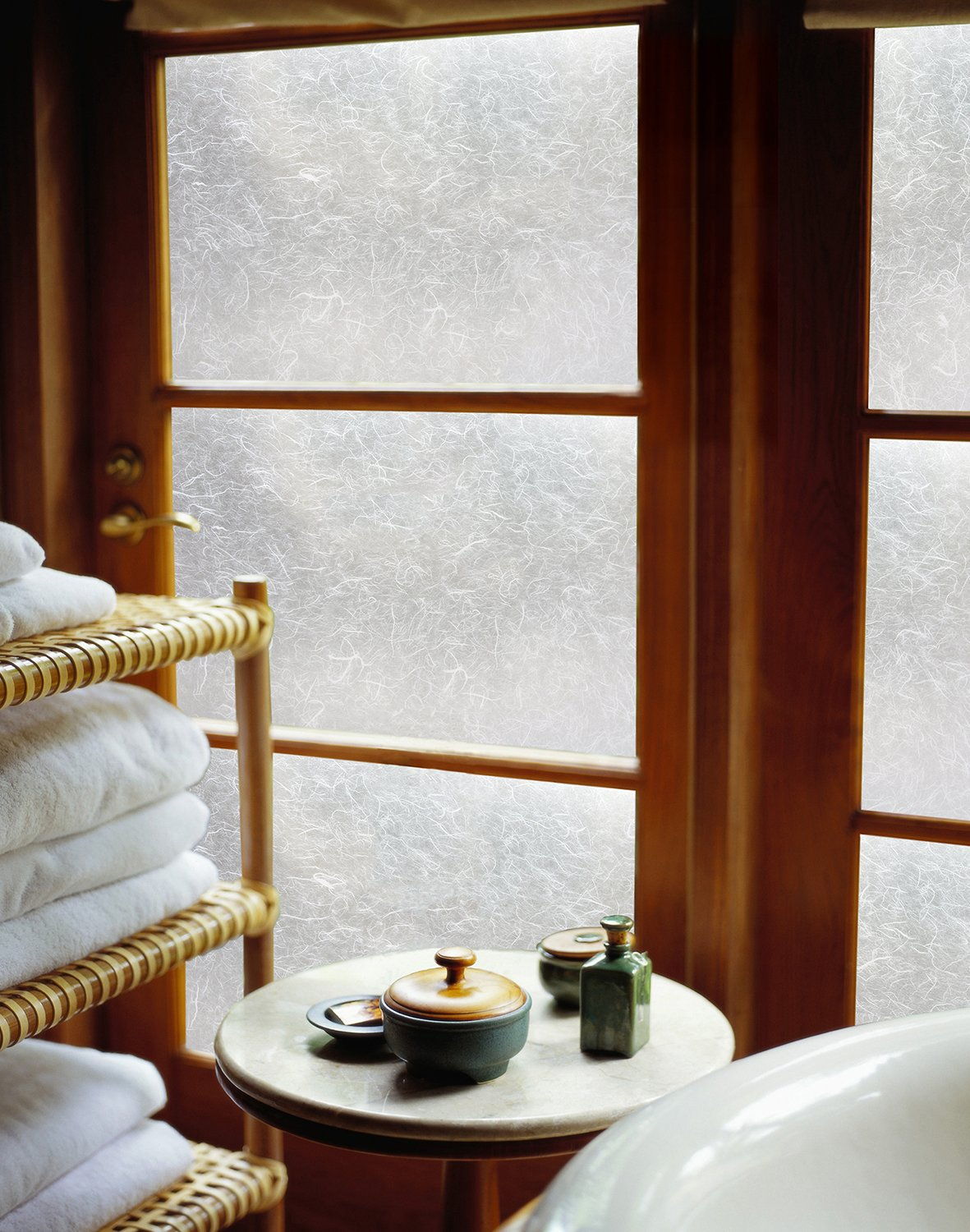 ARTSCAPE Rice Paper 36 in. x 72 in. Window Film, 36-by-72, Frosted by ARTSCAPE