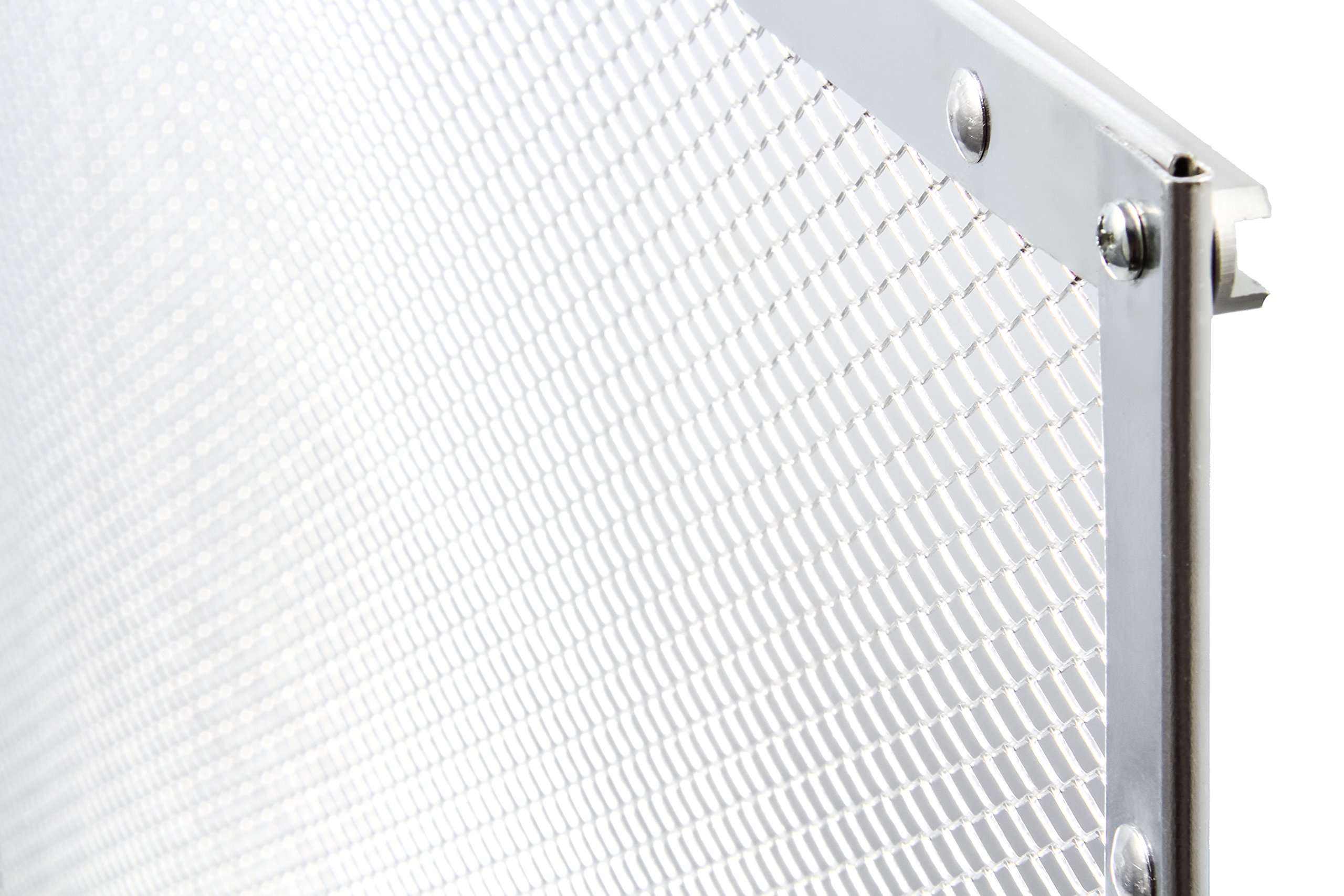 Camco 43981 Aluminum Screen Door Standard Mesh Grille - Protects Your RV's Screen Door, Anodized Aluminum Will Not Corrode by Camco (Image #5)