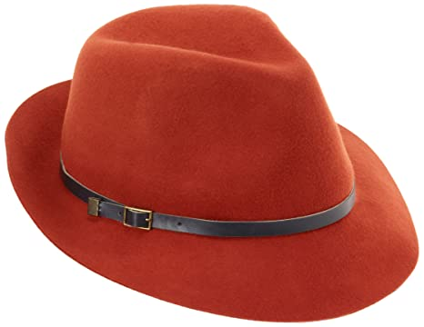 online store ef852 df2aa Genie by Eugenia Kim Women s Jordan Hat, Burnt Orange One Size
