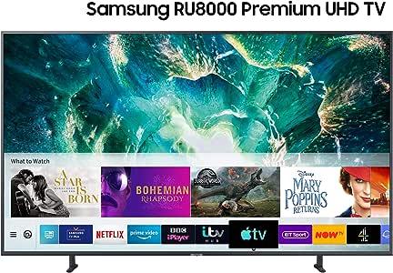 SAMSUNG 55 Pulgadas de TV Crystal Dynamics ru8000 Inteligente 4k ...