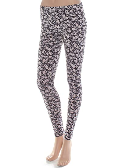 735f436923 Amazon.com: Emmalise Women's Basic Full Ankle Length Pattern Printed Yoga  Leggings - Junior Sizing: Clothing