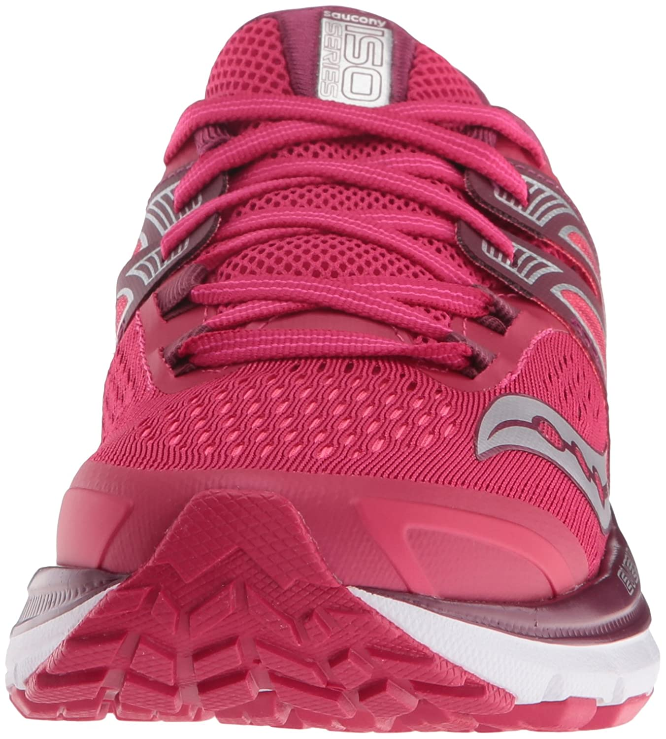 Saucony Women's Triumph Iso B(M) 3 Running Sneaker B01GILHUZC 10.5 B(M) Iso US|Pink/Berry/Silver c7c661