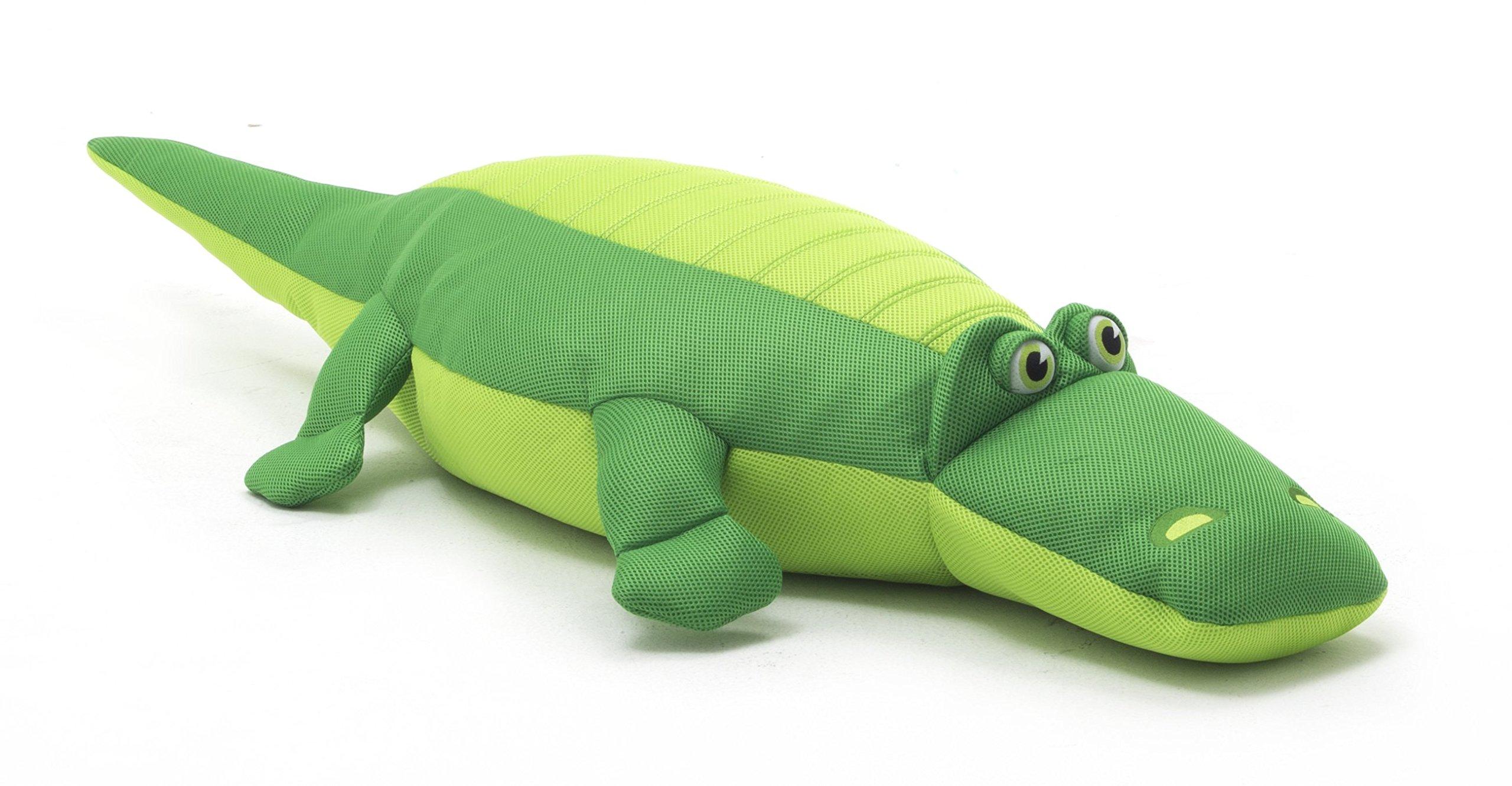 Big Joe, 2020ALL, Alligator Pool Petz Pool Float, Light Green/Dark Green by Big Joe