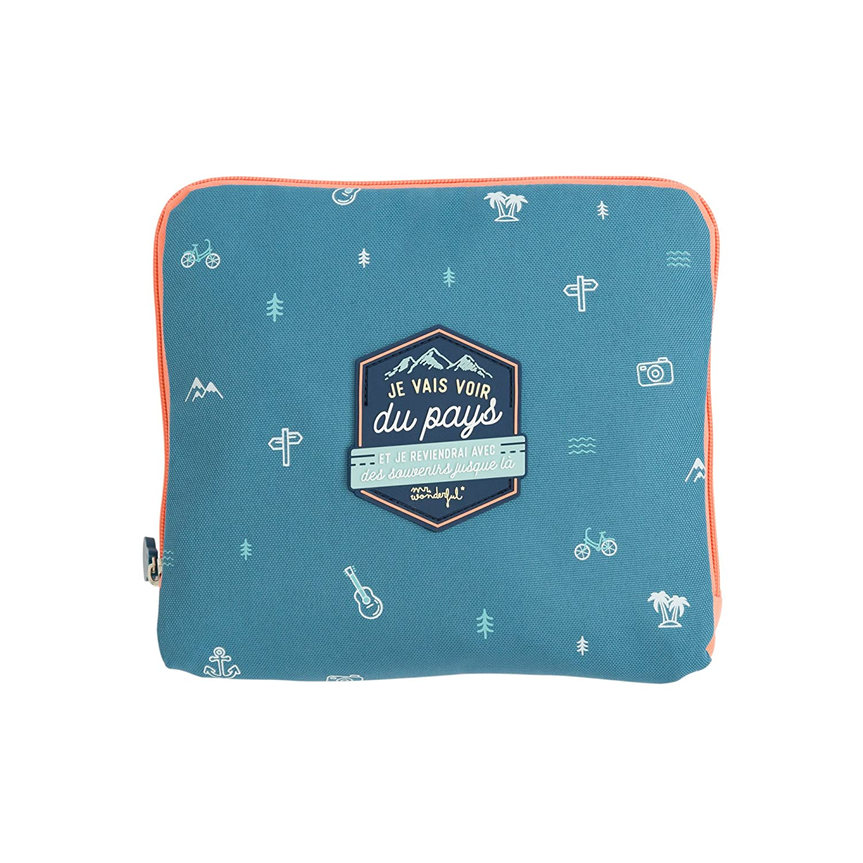 Amazon.com: Mr. Wonderful WOA08989FR Foldable Travel Bag ...