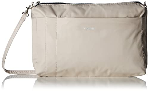 8b2dec3bad Picard Switchbag - Borse a tracolla Donna, Bianco Sporco (Perle), 5x16x26 cm