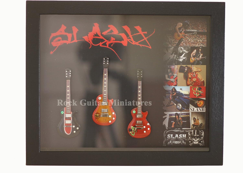 rgm8858 Slash de Guns N Roses Guitarra en miniatura recogida en ...
