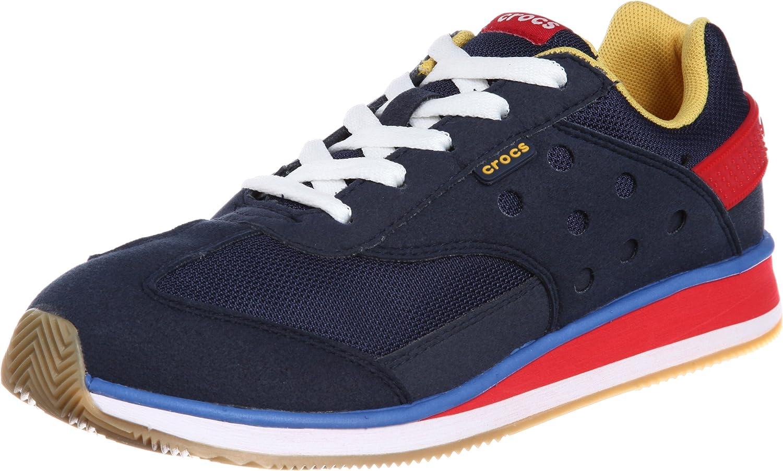 Crocs Retro Sneaker Gs Navy/Red Fashion
