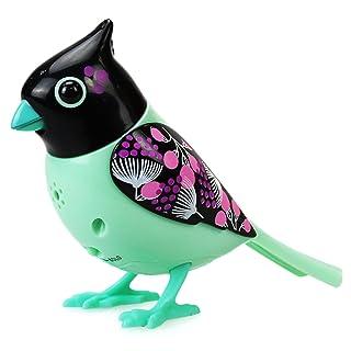 Silverlit 88296 - Uccellino elettronico con gabbietta digi Bird SE88296