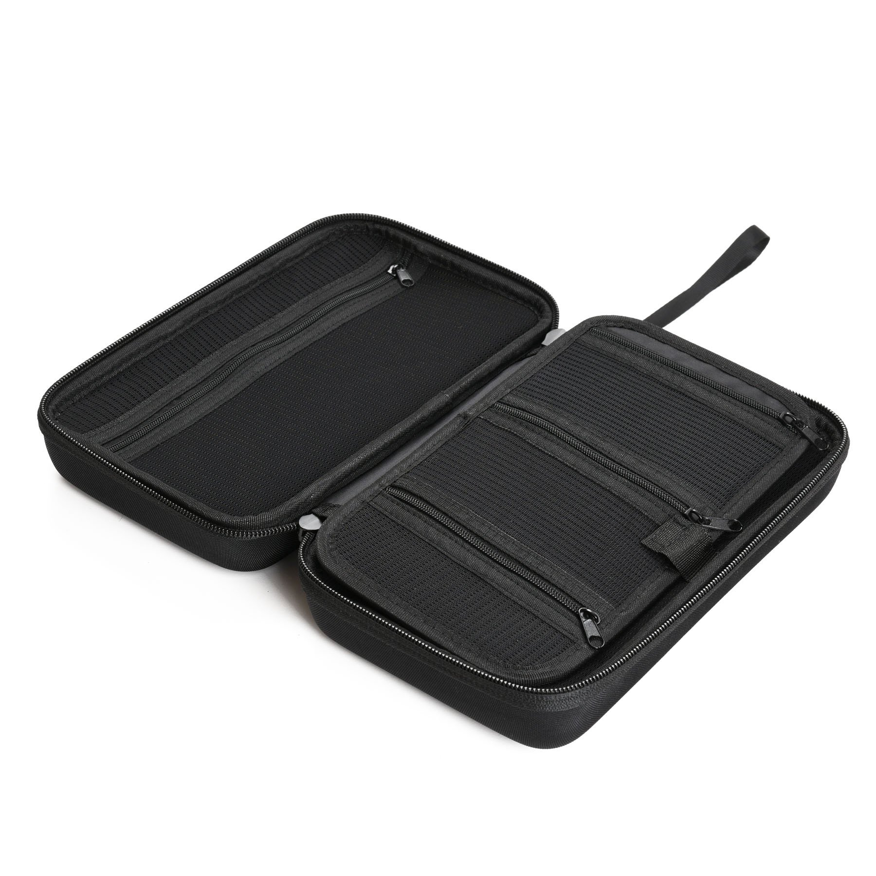 """Caseling Universal Electronics/Accessories Hard Travel Organizer Carrying Case Bag, 9.8"""" x 5.6""""x 2.8"""" - Black by caseling (Image #4)"""