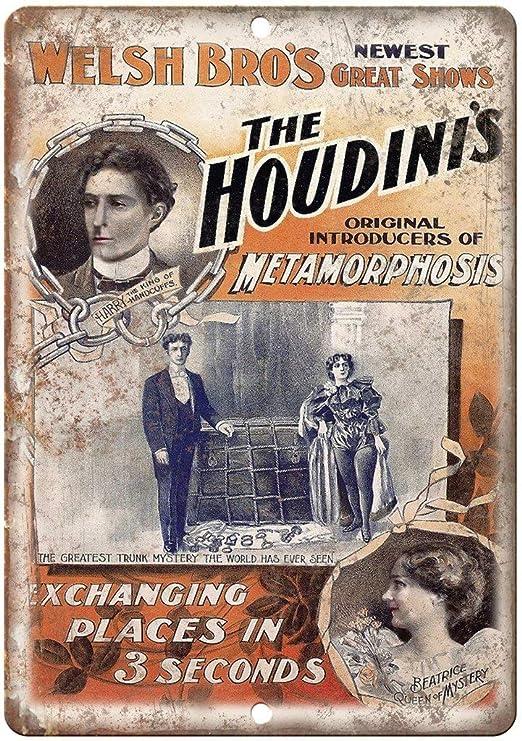 Shunry Welsh Bros Houdinis Metamorphosis Placa Cartel ...
