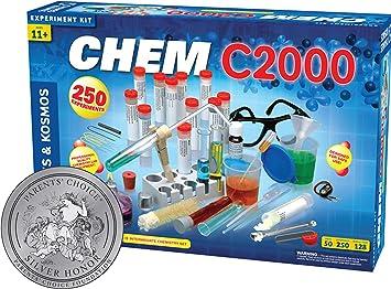 Thames & Kosmos- Chemistry C2000 Química, Color Azul (640125)
