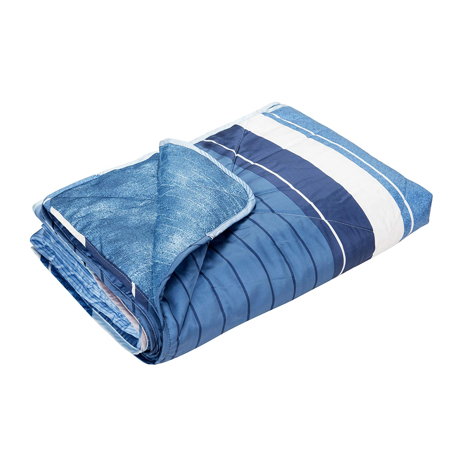 EULEVEN Cooling Quilt Blanket | Luxurious Soft CoolPro Technology and Tencel fibric| Cool Blanket for Night Sweats | Cool Bedding | Lightweight Blanket for Summer | Nicely Bag for Traveler | Full
