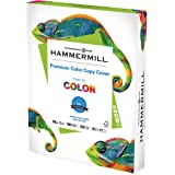 Hammermill Cardstock, Premium Color Copy, 60 lb, 8.5 x 11 - 1 Pack (250 Sheets) - 100 Bright, Made in the USA Card Stock, 122