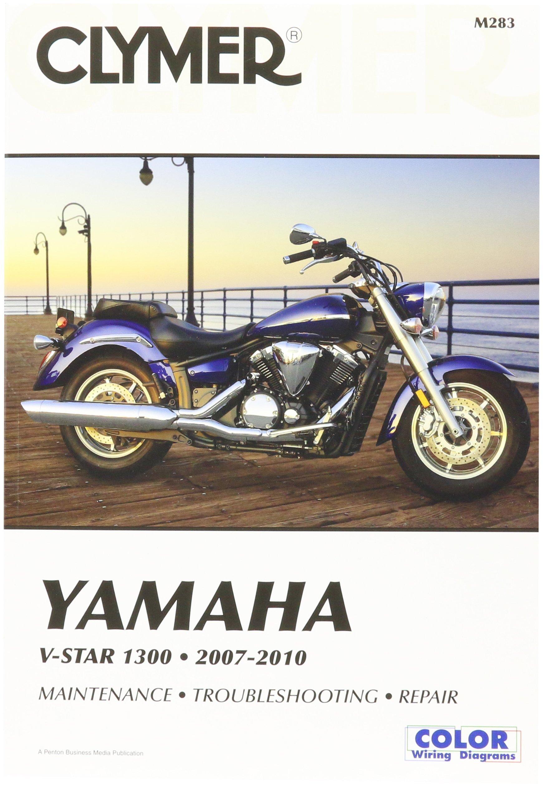 amazon com clymer repair manual m283 automotive yamaha wiring schematic yamaha 1300 wiring diagram #5