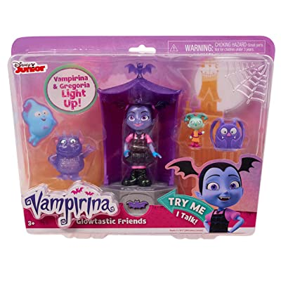 Vampirina Glowtastic Friends Set: Toys & Games