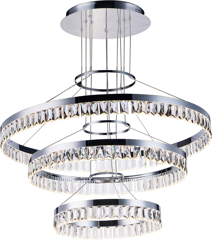 Amazon.com: Maxim Lighting 38379BCPC - Lámpara de techo con ...