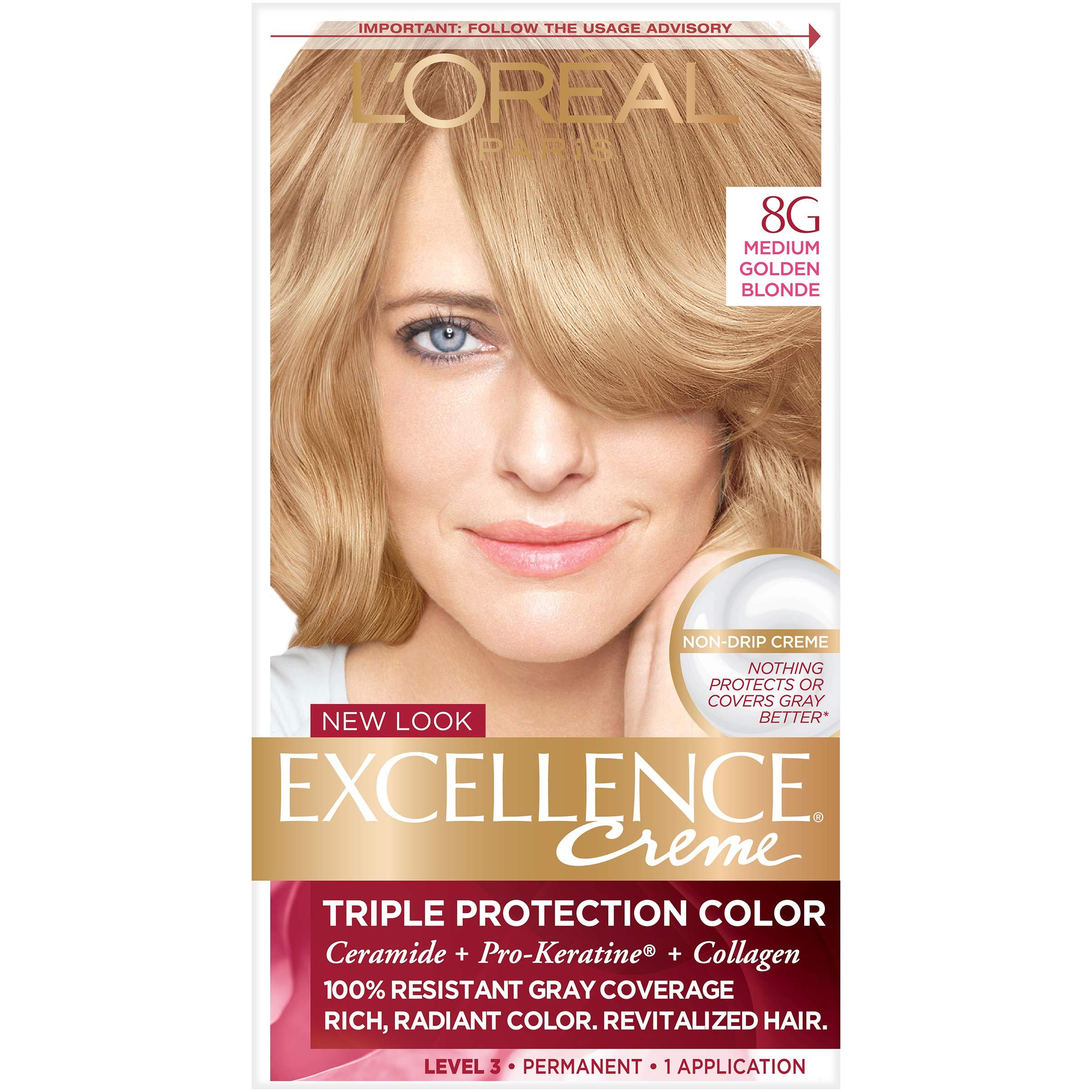 Amazon Loreal Paris Excellence Creme Hair Color 8 Medium
