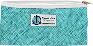 product image for Planet Wise Reusable Zipper Sandwich and Snack Bags, Snack, Drip Drop
