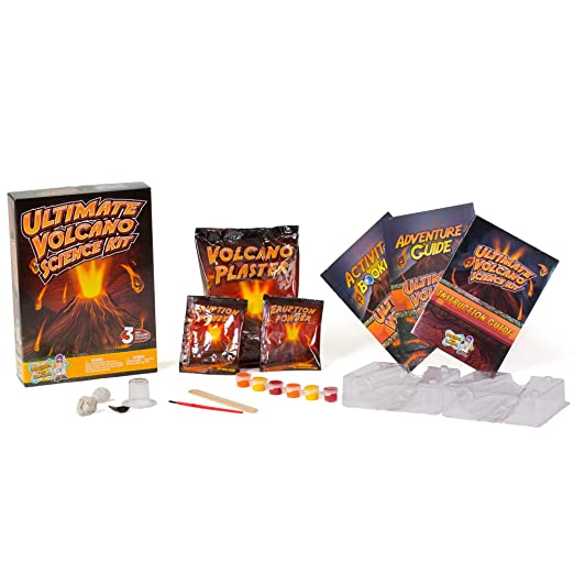 DRCOOL Ultimate Volcano Science Kit - Craft a Volcano and Make It Erupt: Amazon.es: Juguetes y juegos