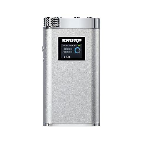 SHURE ヘッドホンアンプ SHA900 ポータブル ハイレゾ対応 SHA900J-P