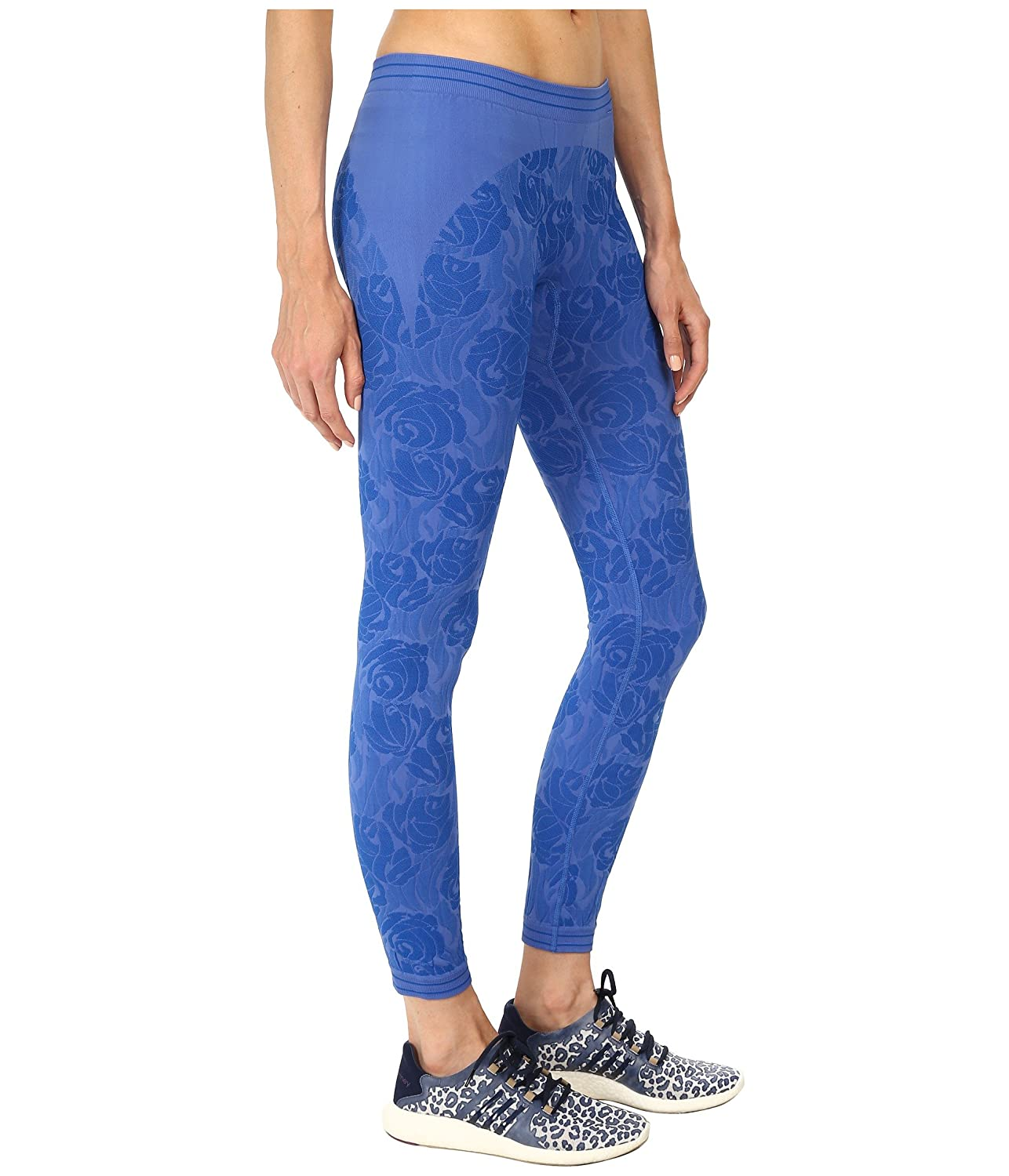 separation shoes ff041 e6808 Adidas Stella McCartney Seamless Tights - S07345 - Blue - L  Amazon.co.uk   Sports   Outdoors