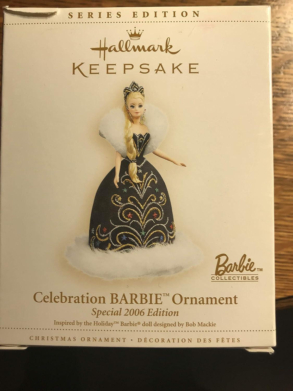 Hallmark Keepsake 2004 Edition CELEBRATION HOLIDAY BARBIE Christmas Ornament