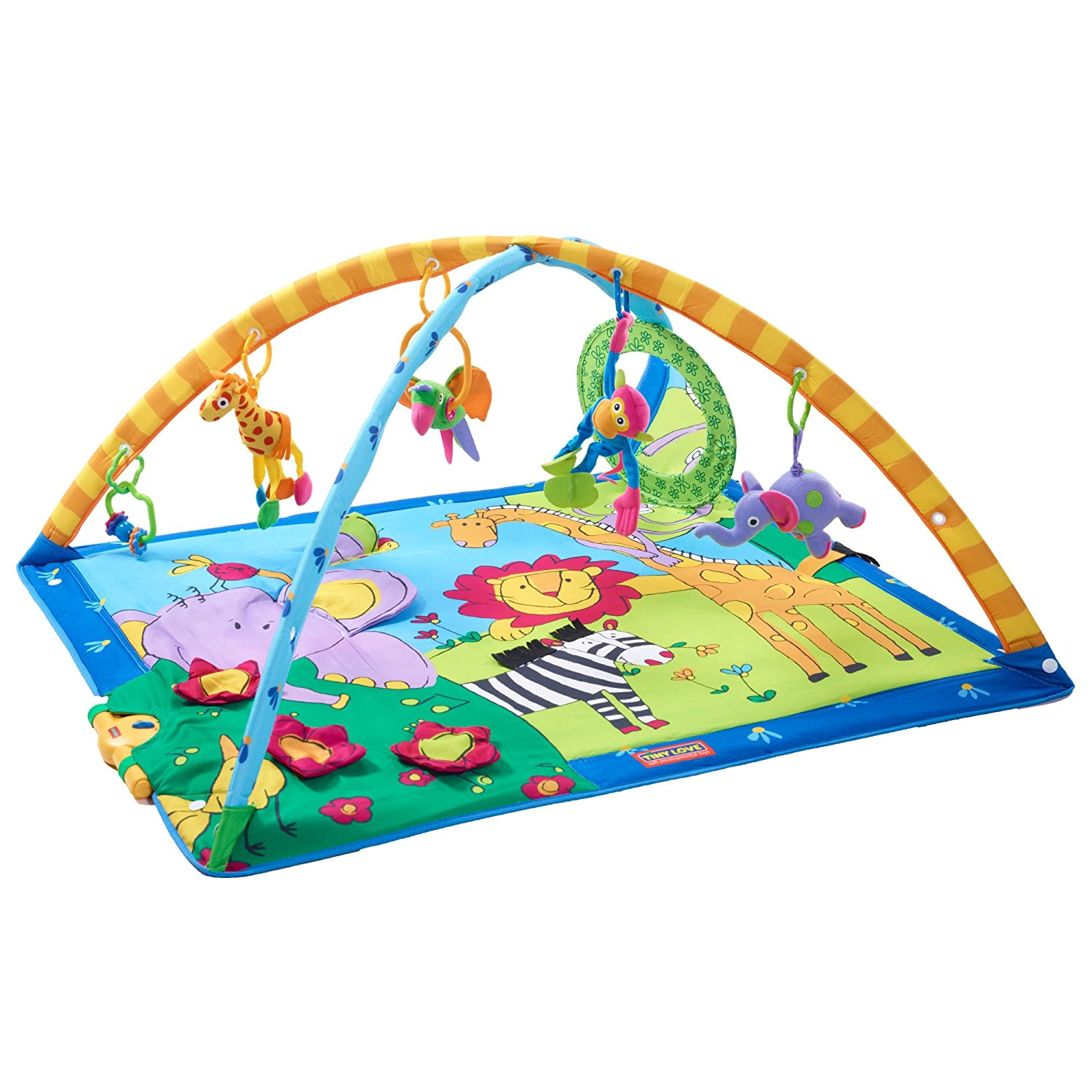 Tiny Love Gymini Super Deluxe Lights and Music Play Mat 33310012