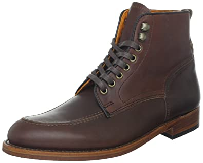 FRYE Men's Walter Lace-Up Boot Dark Brown 7.5 ...
