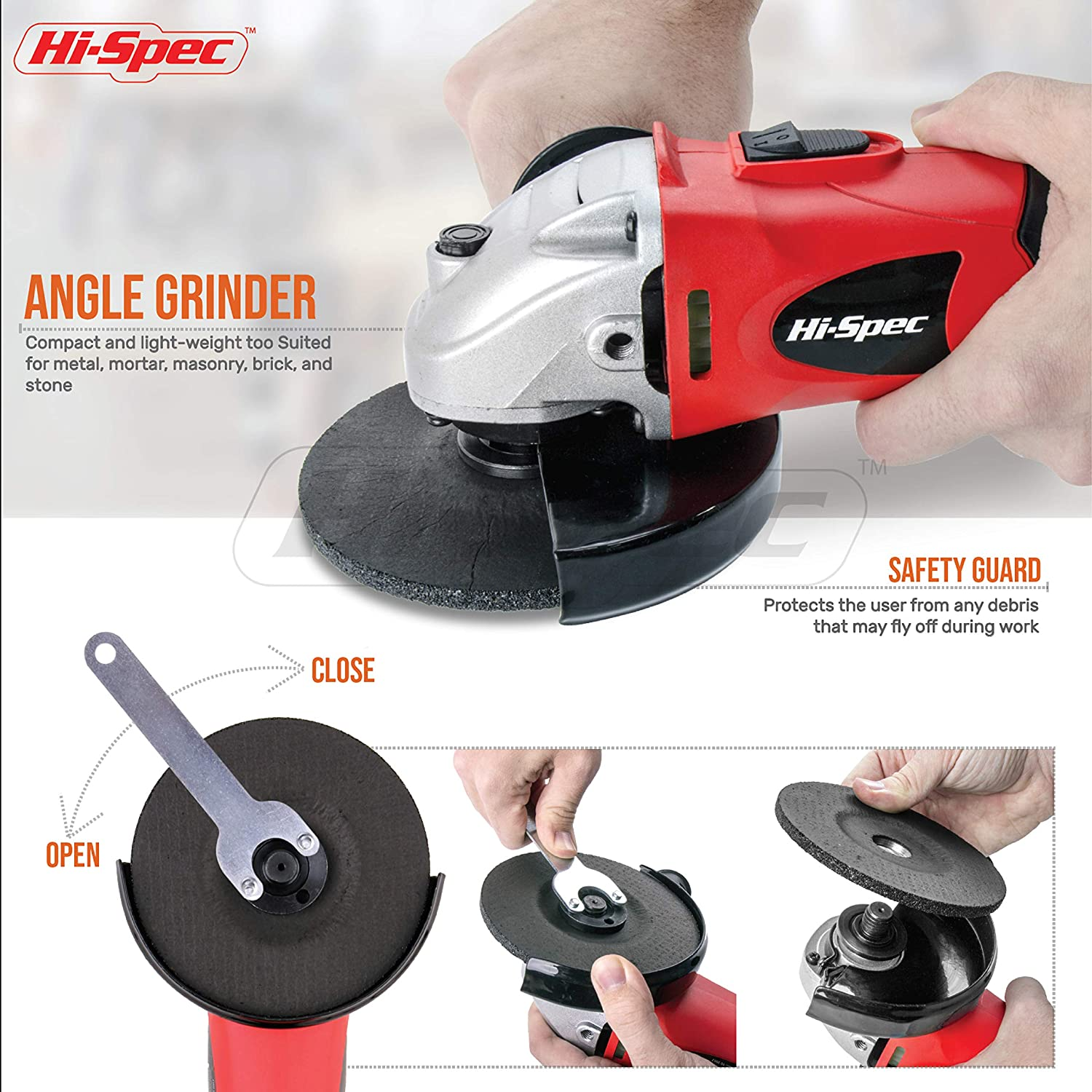 Grinding Cutting Disc Angle Grinder Circular Stone Attachment Practical