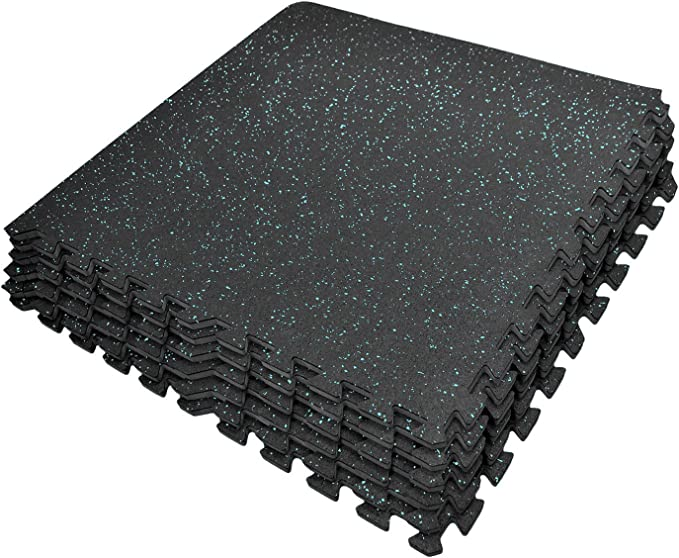 2 Mats in 1 With Smooth Surface On 1 Side and  Ribbed Surface On The Other Side Valeo Foam Exercise Mat Made With High-density Closed-cell Foam