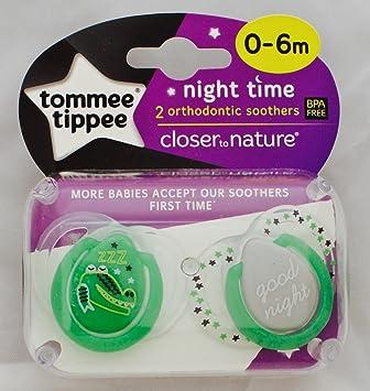 Amazon.com: Closer To Nature Noche Tiempo Chupete individual ...