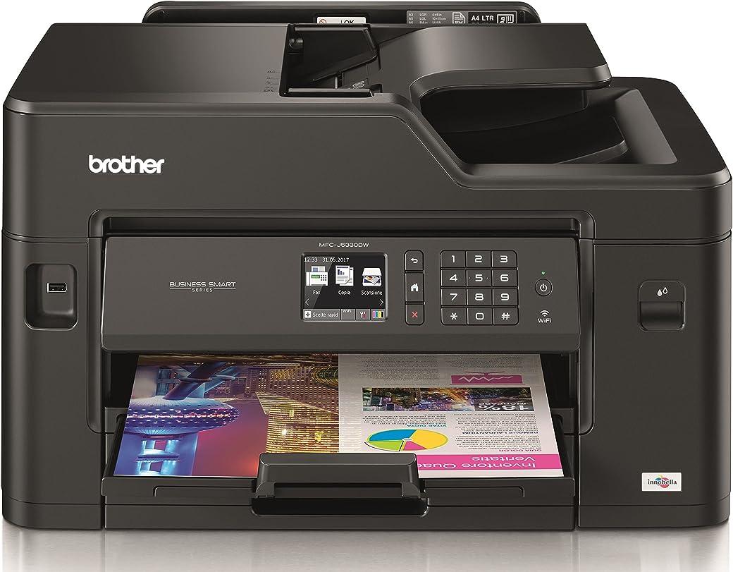 Brother MFCJ5330DW - Impresora multifunción de tinta profesional