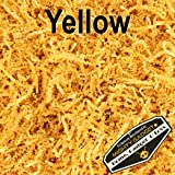 Mighty Gadget (R) 1/2 LB Yellow Crinkle Cut Paper Shred Filler for Gift Wrapping & Basket Filling