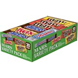 MARS Chocolate Full Size Candy Bars Variety Pack 53.68-Ounce 30-Count Box