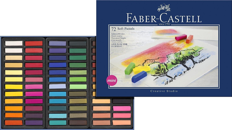 Faber Castell Estuche de cartón con tizas pastel mini multicolor