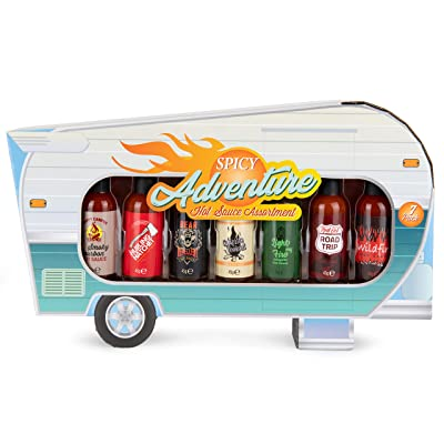 Hot Sauce Camper Gift Set
