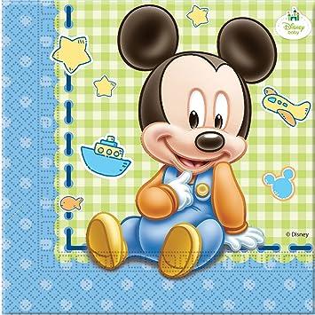 Procos S.A. - Cubertería para fiestas Mickey Mouse (71986): Amazon.es: Juguetes y juegos